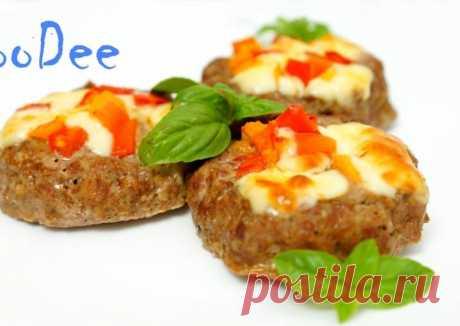 ☆ Мясные гнезда с сыром и помидорами Автор рецепта FooDee - Cookpad