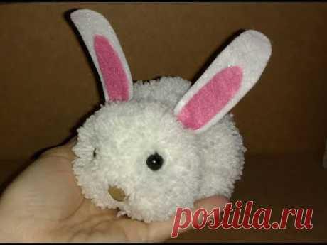 Пасхальный кролик крючком. Схема | вязанные игрушки |Пасхальный зайчик амигуруми из остатков пряжи