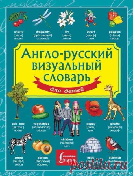 Англо-русский визуальный словарь