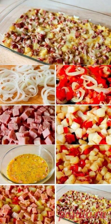 Как приготовить фриттата по-испански - рецепт, ингридиенты и фотографии