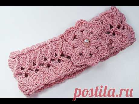 Diadema a Crochet a juego con jersey muy fácil y rápido majovel crochet #crochet #ganchillo
