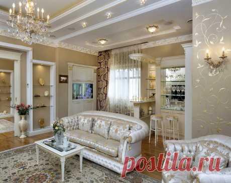 Интерьер гостиной в частном доме: как создать современную и уютную обстановку (27 фото) - cozyblog - медиаплатформа МирТесен