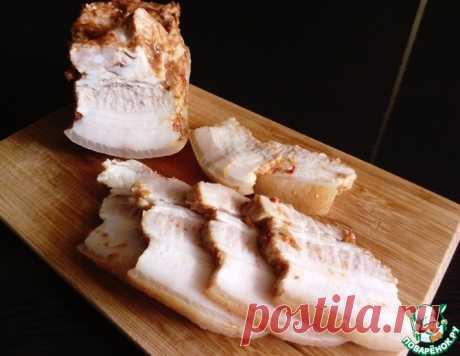 "Сало ""Пятиминутка"" – кулинарный рецепт"