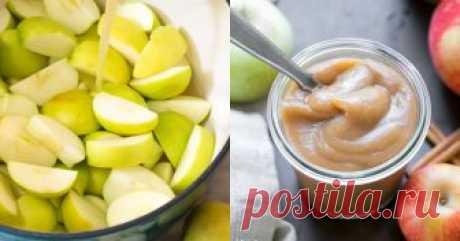 Бутербродное масло из яблок: заряд бодрости и хорошего настроения Можно намазывать на хлеб, блинчики, тосты или есть ложкой просто так.