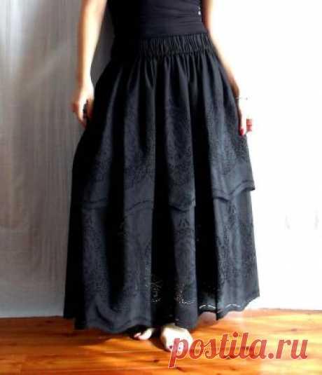 Как сшить бохо юбку своими руками: выкройки, этапы работы от дизайнера-портного | Журнал Estemine