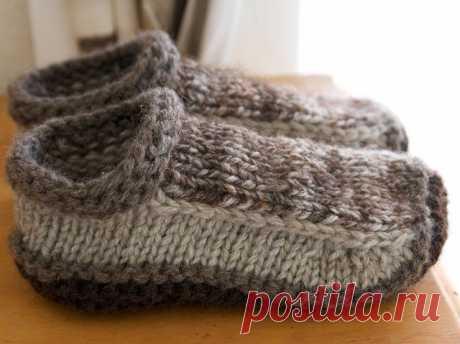 Ravelry: Non-felted Slippers pattern by Yuko Nakamura