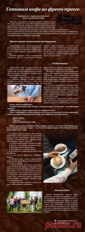 Готовим кофе во френч-прессе