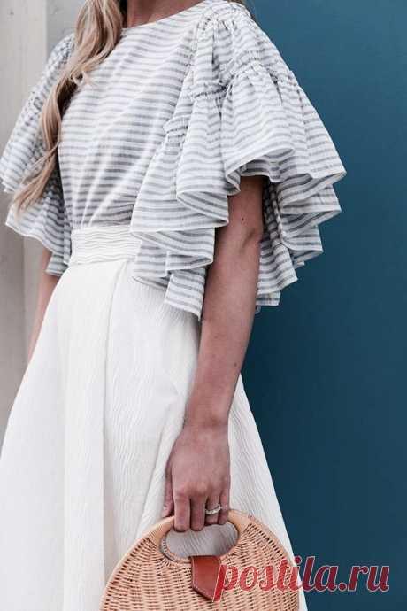 Красота в рукаве (много) Модная одежда и дизайн интерьера своими руками