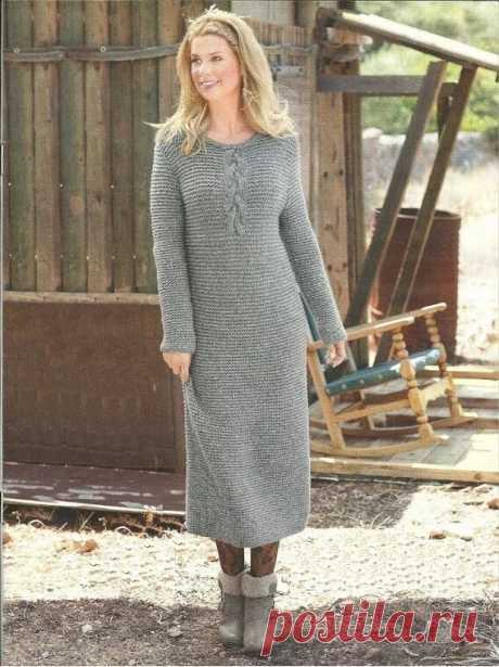 Тёплое платье на все времена | Юлия Сковородина | Яндекс Дзен