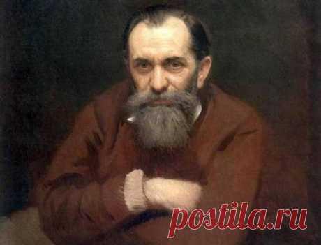 И. Крамской. Портрет В. Перова, 1881.