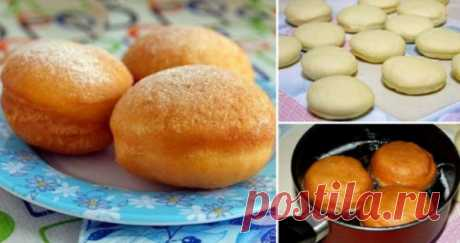 Суперские пончики с начинкой от которых будет без ума вся ваша семья — Калейдоскоп чудес