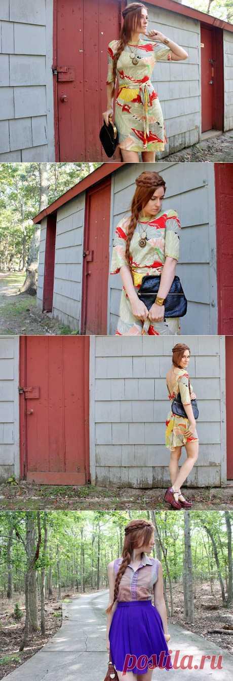 Как сделать косичку вокруг головы / Прически / Модный сайт о стильной переделке одежды и интерьера