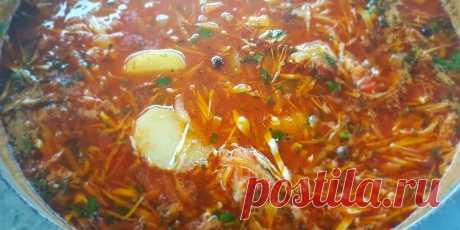 Цыганский борщ. + Острый цыганский суп.