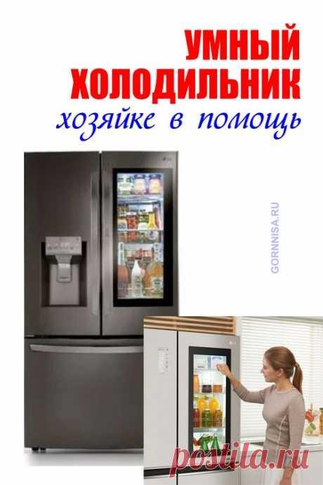 Умный холодильник - хозяйке в помощь | ГОРНИЦА