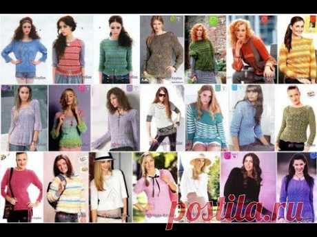 Джемпер для женщин спицами *❤️️ ЧУДО-КЛУБОК.рУ ➲ официальный сайт вязания ✶