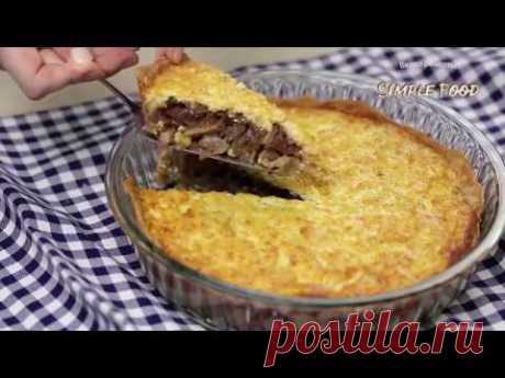 Сегодня готовим необычайно вкусный рецепт лукового пирога с грибами и сыром. Сказать, что этот пирог очень вкусный — это ничего не сказать. ↓↓↓↓↓↓↓↓↓ Не забу...