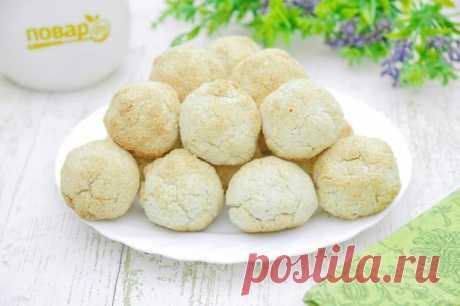 Постное кокосовое печенье - пошаговый рецепт с фото на Повар.ру