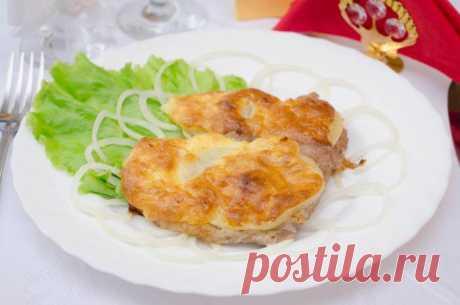 Мясо под сыром - пошаговый рецепт с фото / Простые рецепты