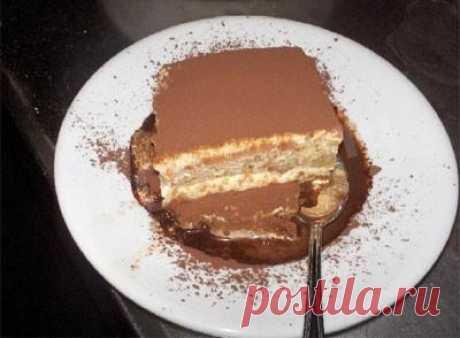 Торт Тирамису рецепт с фото - 1000.menu