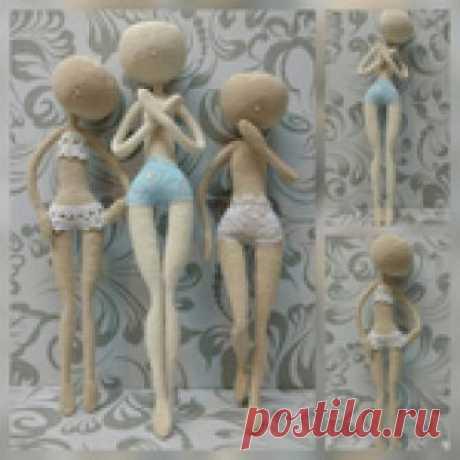 вязаная кукла-стройняшка