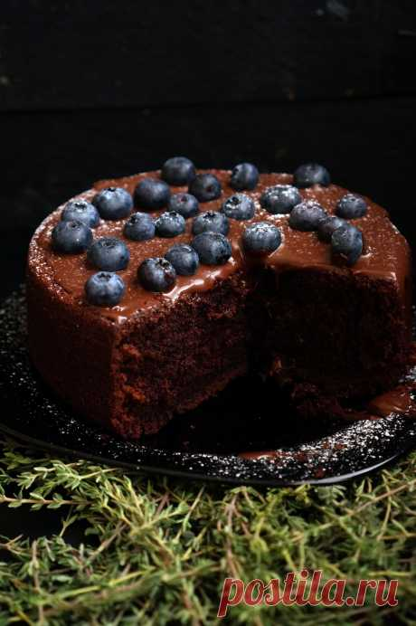 Chocolate cake on time, two, three - Andy Chef - the blog about food and travel, step-by-step recipes, online store for confectioners