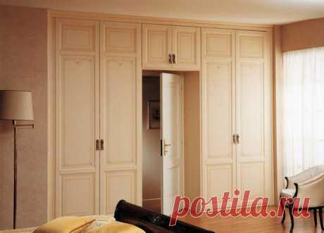 Шкаф вокруг дверного проема - фото-идеи