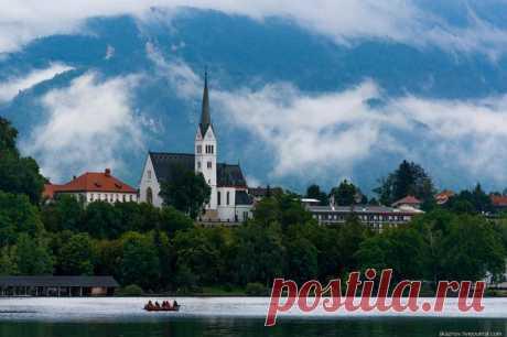 Фотопрогулка по озеру Блед в Словениии