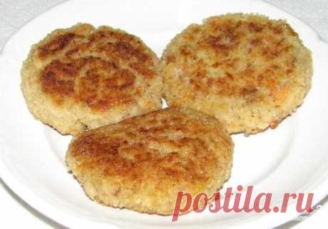 Котлеты без мяса - пошаговый рецепт с фото на Повар.ру