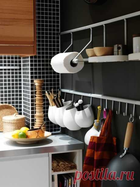 Хранение на маленькой кухне: что делать, если в квартире нет кладовки