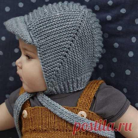 для тех, кто вяжет - Детская шапочка спицами