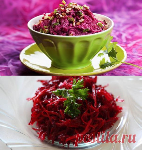 How to make the Italian delicacy and 6 more recipes of enchanting salads of beet