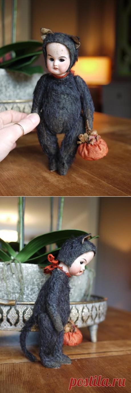 Матильда, Хэллоуин Черная кошка от KatyaPanayisArtDolls-Bear Pile