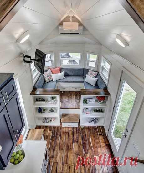 10 интерьеров маленьких домиков, которые вам понравятся — Roomble.com
