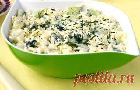 Салат для снижения веса и повышения иммунитета из 7 полезных ингредиентов