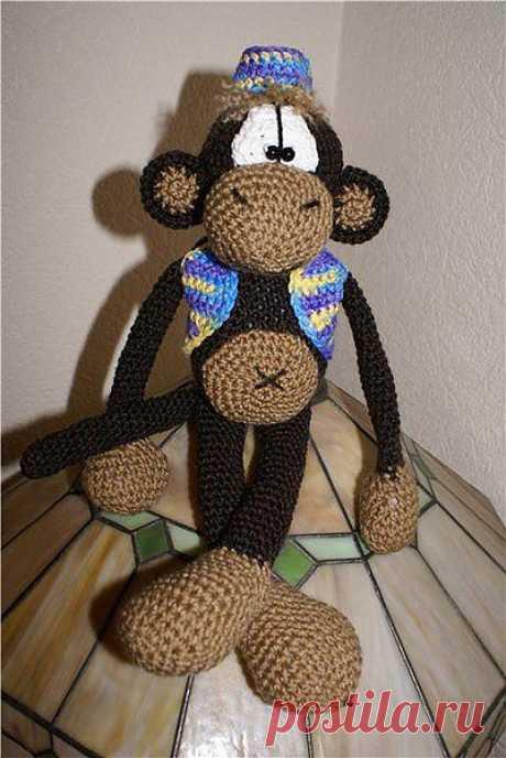 обезьянка.