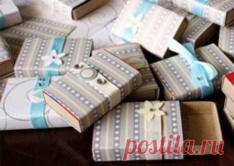 Упаковочная история: оформление подарков своими руками — Вытворяндия