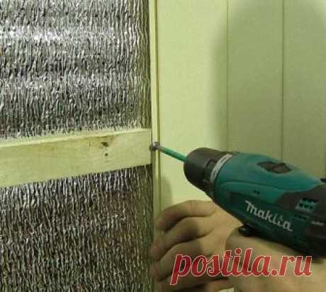 Самостоятельное утепление помещения с помощью пенофола — Самострой