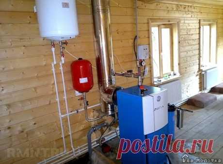 Особенности установки твердотопливного котла | Dvamolotka.ru