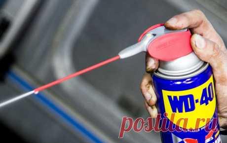 Секретные свойства WD-40 Жидкость WD-40 стала по-настоящему популярна. В некоторых странах даже действуют фан-клубы, посвящённые этому средству.