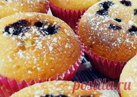 (13) Кексы с начинкой - пошаговый рецепт с фото. Автор рецепта Татьяна Пацюкова 🌳 . - Cookpad
