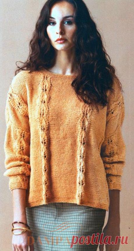 Пуловер «Chronos» | DAMские PALьчики. ru