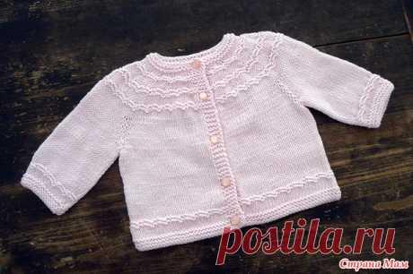 Жакет для девочки - Вязание для детей - Страна Мам