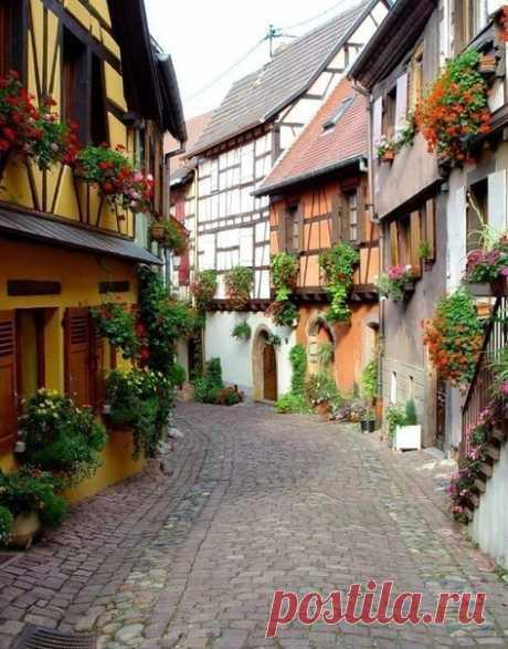 Средневековые деревеньки Франции — Путешествия