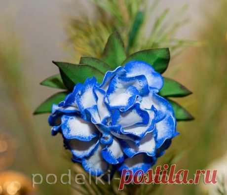 """Елочная игрушка """"Необыкновенный цветок"""""""