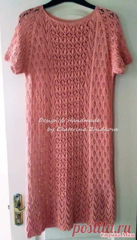 Платье для дочери - Вязание - Страна Мам
