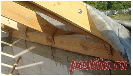 «Глупейшая ошибка - крепить стропила на уголки». Почему опытные плотники так не делают? (3 мастерских способа) | Строю для себя | Яндекс Дзен