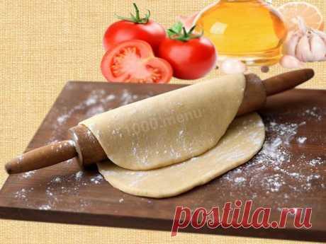 Тесто на манты на кефире рецепт с фото - 1000.menu
