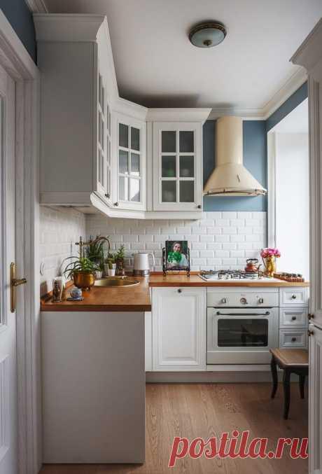 Как правильно оборудовать небольшую кухню