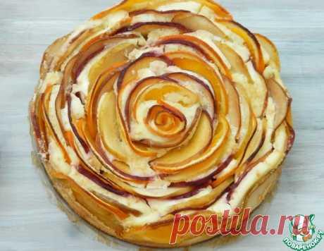 """Творожная запеканка """"Роза"""" – кулинарный рецепт"""