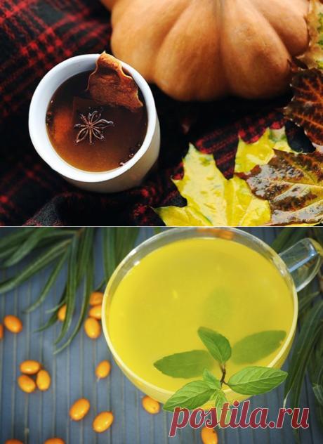 Какой чай согревает: 5 рецептов напитков осени